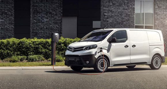 Nuovo PROACE Electric – Toyota Professional