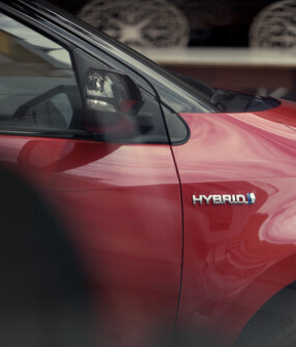 Laterale con specchietto Toyota Yaris